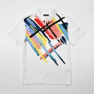 NWT Alfani Men's Graphic Polo Shirt